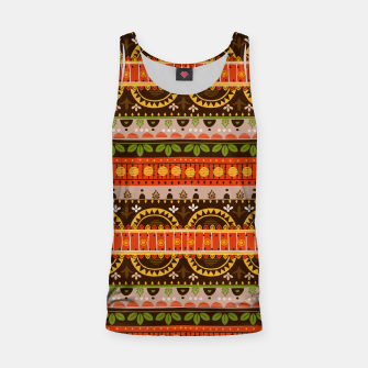 Thumbnail image of Tribal Pattern - 16 Indian Summer Tank Top, Live Heroes
