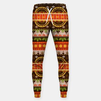 Thumbnail image of Tribal Pattern - 16 Indian Summer Sweatpants, Live Heroes