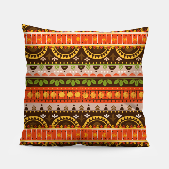 Thumbnail image of Tribal Pattern - 16 Indian Summer Pillow, Live Heroes