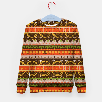 Thumbnail image of Tribal Pattern - 16 Indian Summer Kid's sweater, Live Heroes