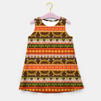 Thumbnail image of Tribal Pattern - 16 Indian Summer Girl's summer dress, Live Heroes
