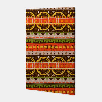 Thumbnail image of Tribal Pattern - 16 Indian Summer Canvas, Live Heroes
