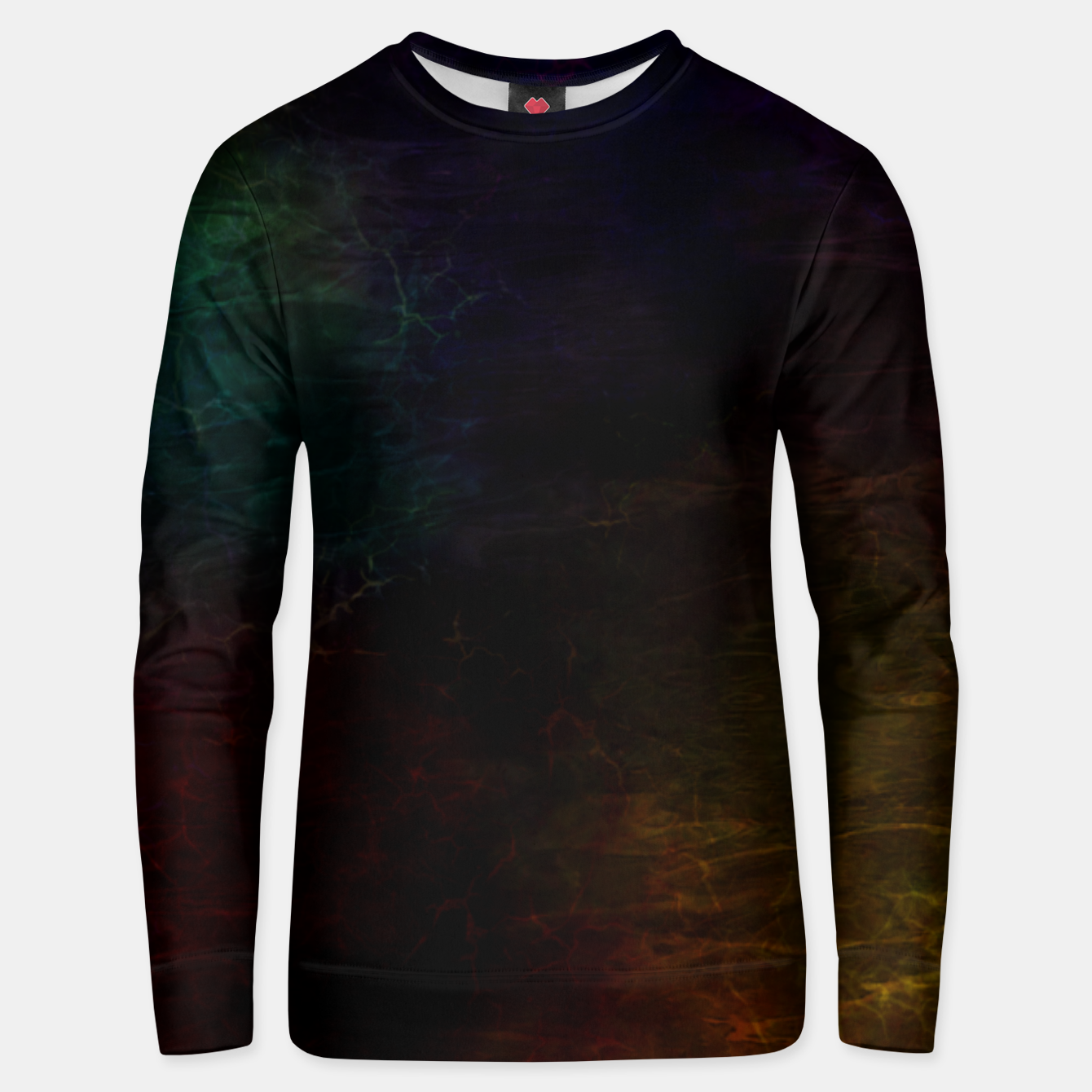 Image of colored water Unisex sweater - Live Heroes