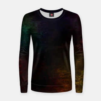 Thumbnail image of colored water Women sweater, Live Heroes