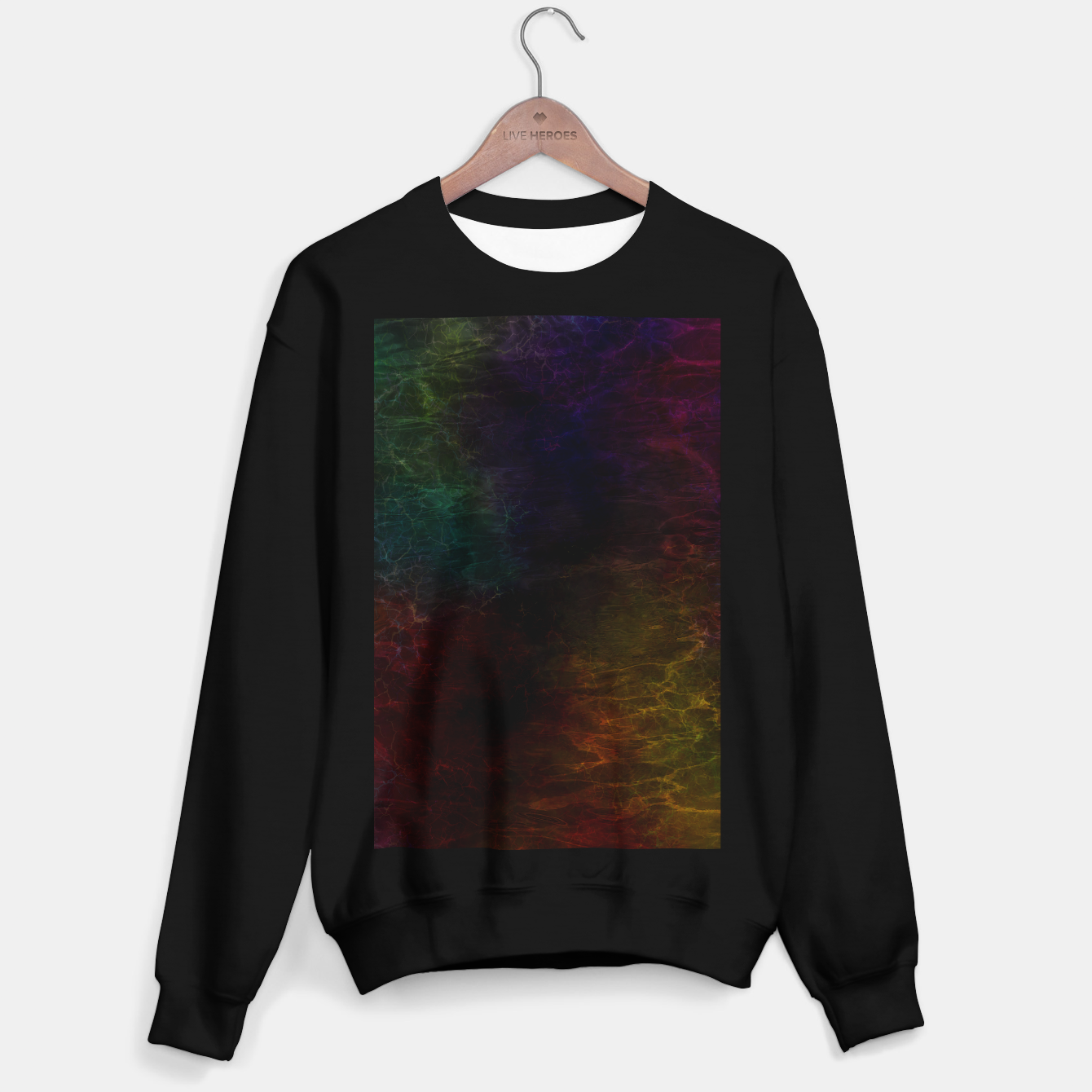 Image of colored water Sweater regular - Live Heroes