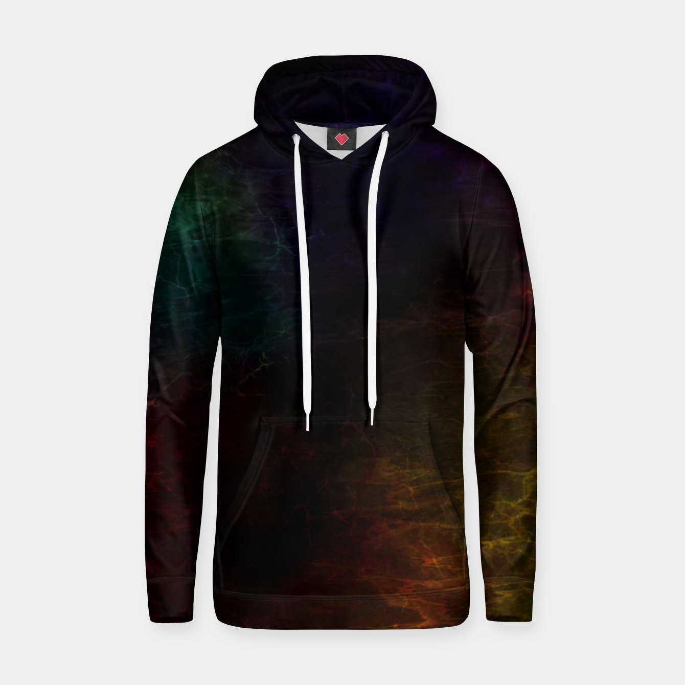 Image of colored water Hoodie - Live Heroes