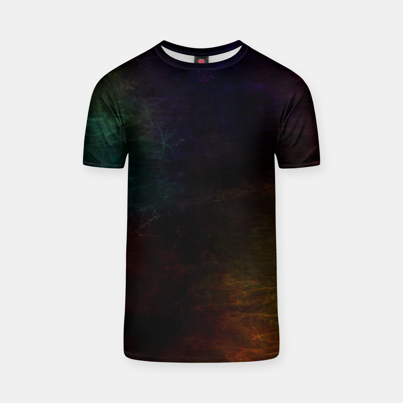 Image of colored water T-shirt - Live Heroes