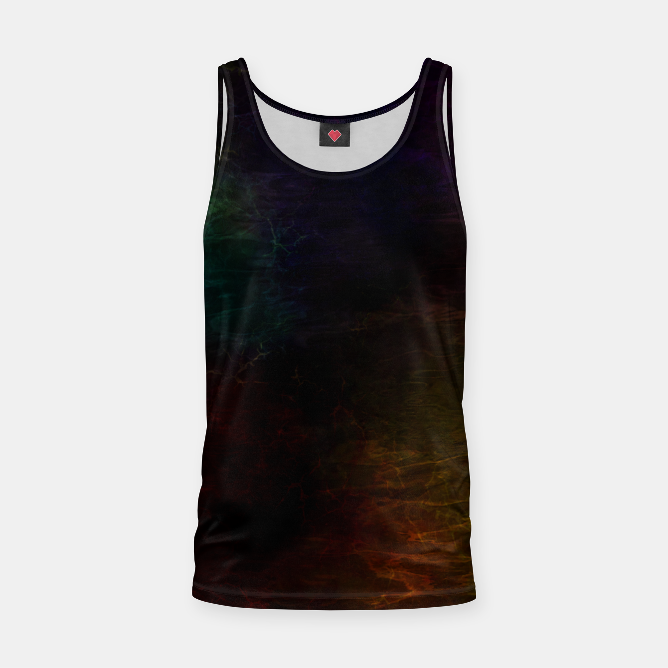 Image of colored water Tank Top - Live Heroes