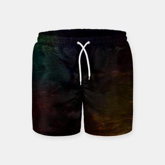 Thumbnail image of colored water Swim Shorts, Live Heroes