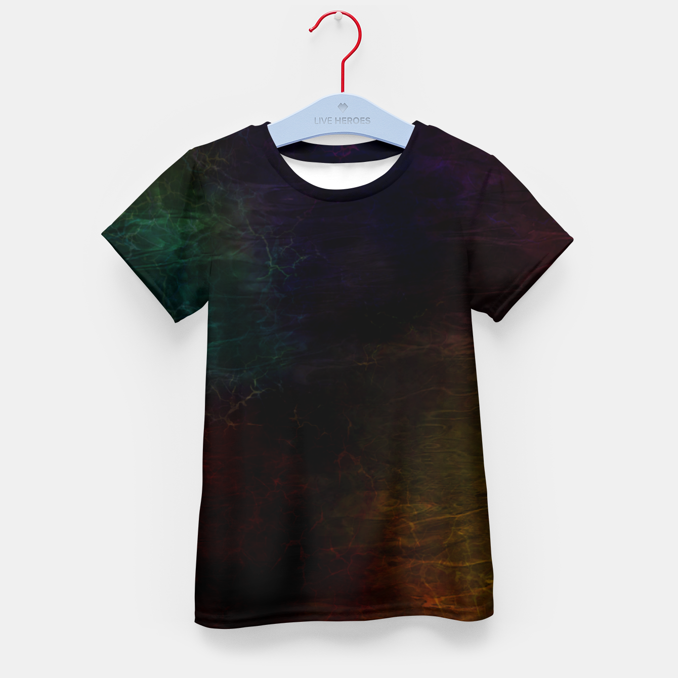 Image of colored water Kid's t-shirt - Live Heroes