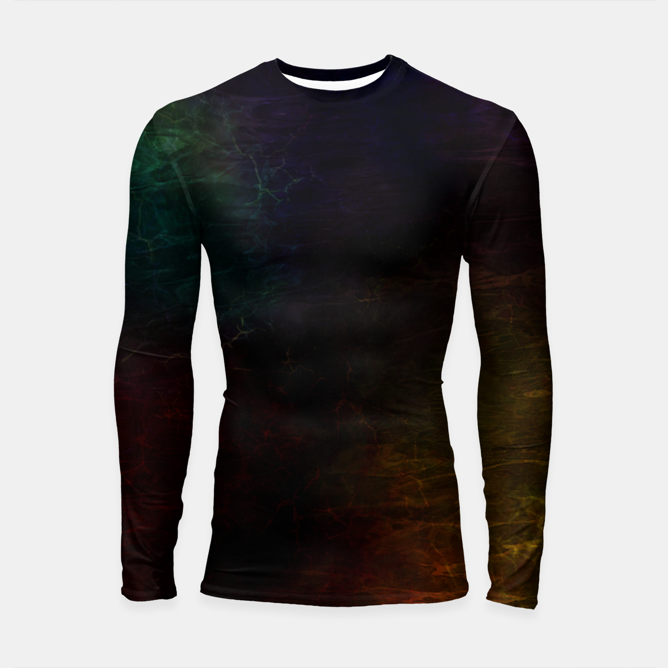 Image of colored water Longsleeve rashguard  - Live Heroes