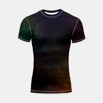 Thumbnail image of colored water Shortsleeve rashguard, Live Heroes