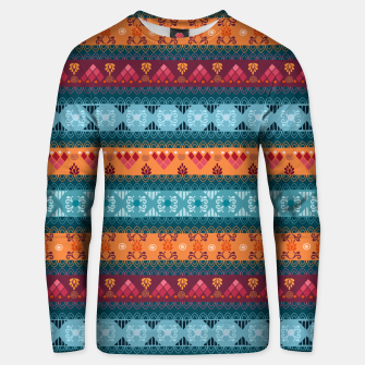 Thumbnail image of Tribal Pattern - 17 Laice Braid Unisex sweater, Live Heroes
