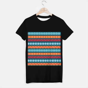 Thumbnail image of Tribal Pattern - 17 Laice Braid T-shirt regular, Live Heroes