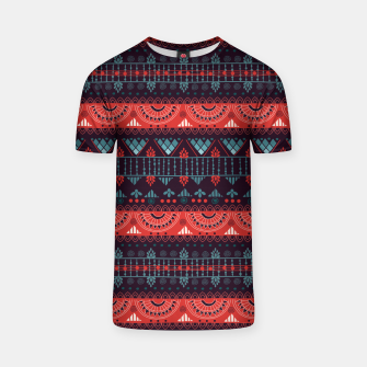 Thumbnail image of Tribal Pattern - 18 Harmony Violet T-shirt, Live Heroes
