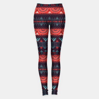 Thumbnail image of Tribal Pattern - 18 Harmony Violet Leggings, Live Heroes