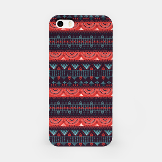 Thumbnail image of Tribal Pattern - 18 Harmony Violet iPhone Case, Live Heroes
