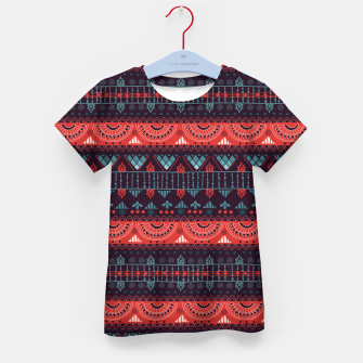 Thumbnail image of Tribal Pattern - 18 Harmony Violet Kid's t-shirt, Live Heroes