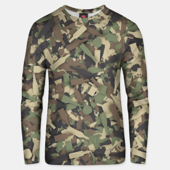 Thumbnail image of Forest alcohol camouflage Unisex sweater, Live Heroes