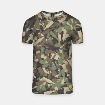 Thumbnail image of Forest alcohol camouflage T-shirt, Live Heroes