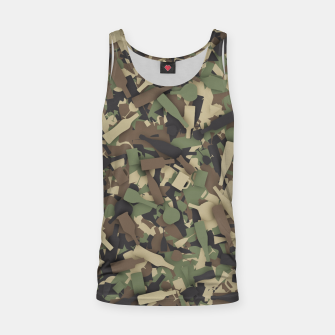 Thumbnail image of Forest alcohol camouflage Tank Top, Live Heroes