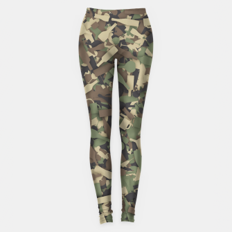 Thumbnail image of Forest alcohol camouflage Leggings, Live Heroes