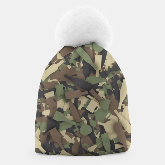 Thumbnail image of Forest alcohol camouflage Beanie, Live Heroes