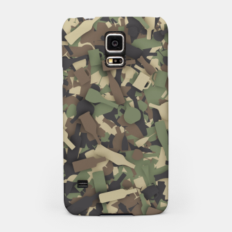 Thumbnail image of Forest alcohol camouflage Samsung Case, Live Heroes