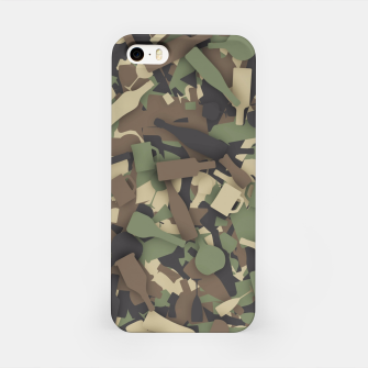 Thumbnail image of Forest alcohol camouflage iPhone Case, Live Heroes