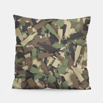 Thumbnail image of Forest alcohol camouflage Pillow, Live Heroes