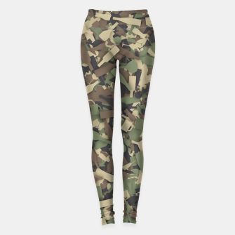 Miniatur Forest alcohol camouflage Leggings, Live Heroes