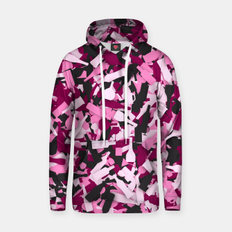 Miniatur Pink alcohol camouflage Hoodie, Live Heroes