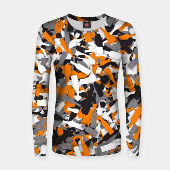 Miniatur Urban alcohol camouflage Women sweater, Live Heroes