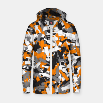 Miniatur Urban alcohol camouflage Zip up hoodie, Live Heroes