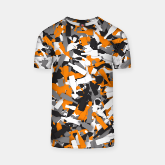 Thumbnail image of Urban alcohol camouflage T-shirt, Live Heroes