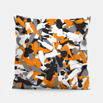 Thumbnail image of Urban alcohol camouflage Pillow, Live Heroes