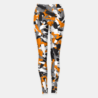Thumbnail image of Urban alcohol camouflage Leggings, Live Heroes