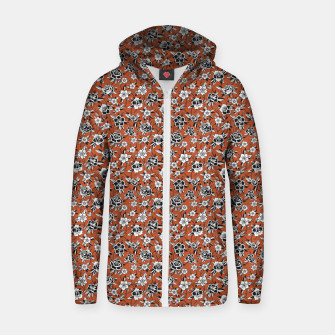 Thumbnail image of Sunrise in the Rose Garden Zip up hoodie, Live Heroes