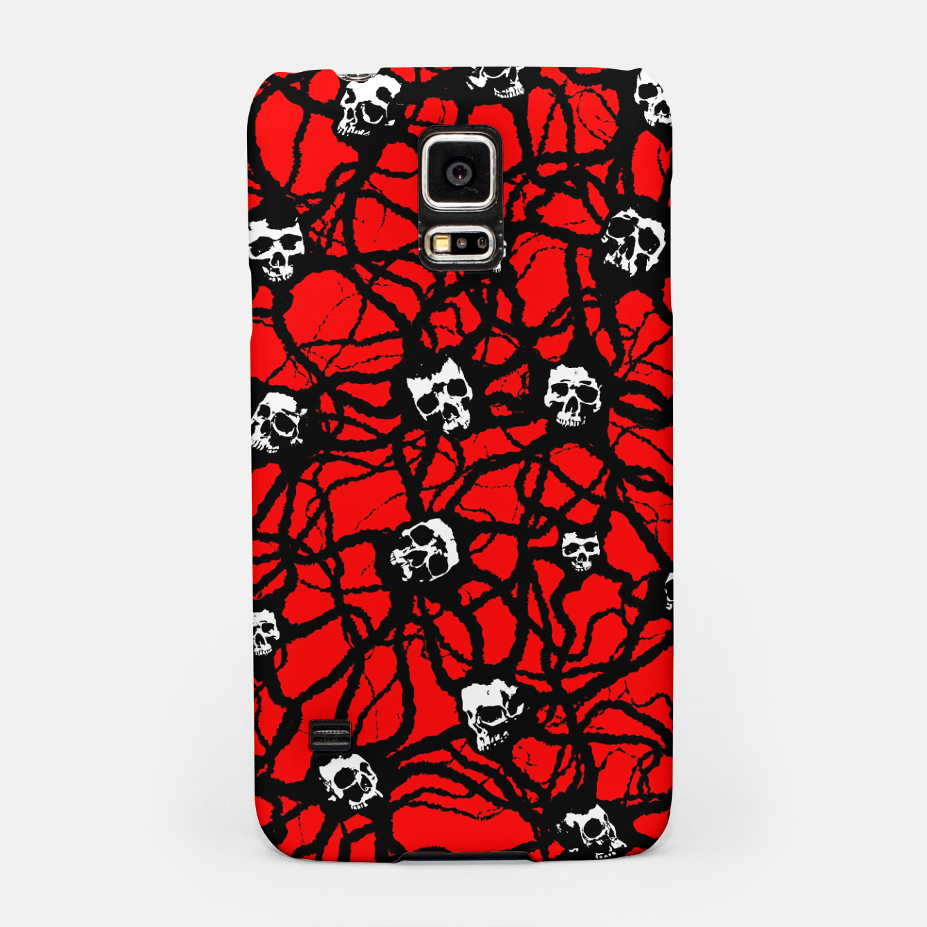 Foto Contagion Gothic Skulls Pattern Samsung Case - Live Heroes