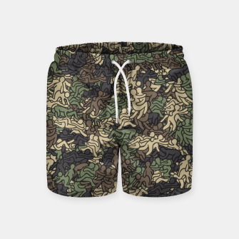 Miniaturka Sex positionns camouflage Swim Shorts, Live Heroes