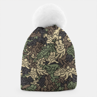 Miniaturka Sex positionns camouflage Beanie, Live Heroes
