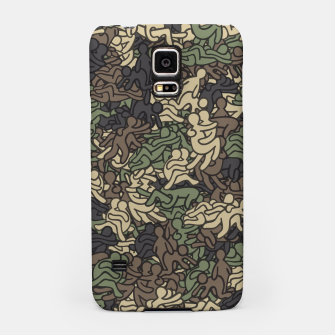 Miniaturka Sex positionns camouflage Samsung Case, Live Heroes