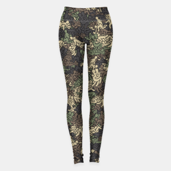 Miniaturka Sex positionns camouflage Leggings, Live Heroes