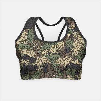 Miniaturka Sex positionns camouflage Crop Top, Live Heroes