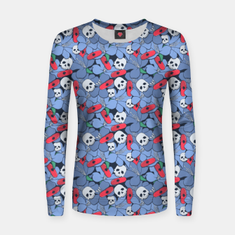 Thumbnail image of Death Rising from the Ground Women sweater, Live Heroes