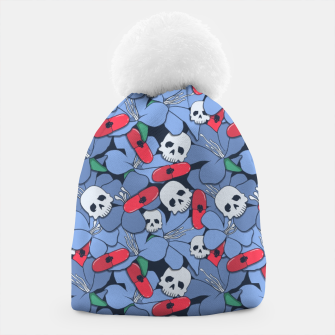 Thumbnail image of Death Rising from the Ground Beanie, Live Heroes