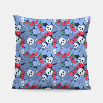 Thumbnail image of Death Rising from the Ground Pillow, Live Heroes