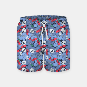 Thumbnail image of Death Rising from the Ground Swim Shorts, Live Heroes