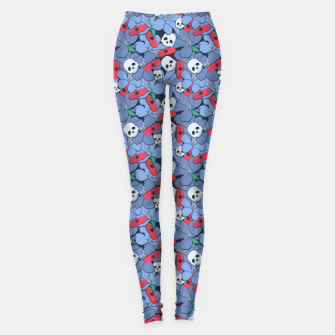 Thumbnail image of Death Rising from the Ground Leggings, Live Heroes