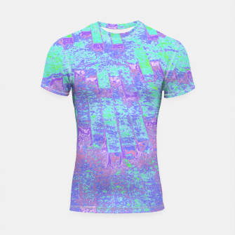 Thumbnail image of Architecture abstract  Shortsleeve rashguard, Live Heroes